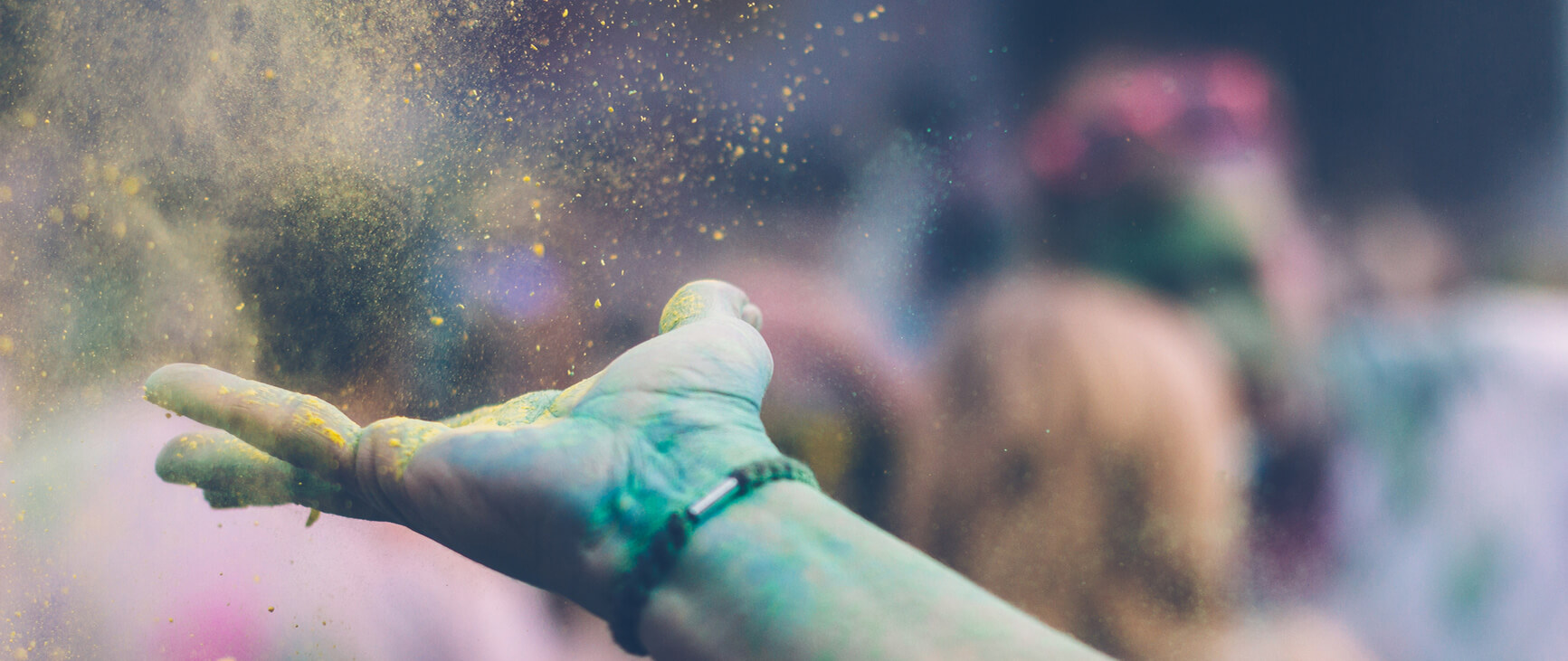 Färgfestivalen i Indien – Holi